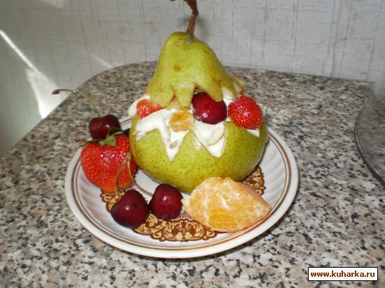 """Рецепт Десерт """"Сюрприз"""""""