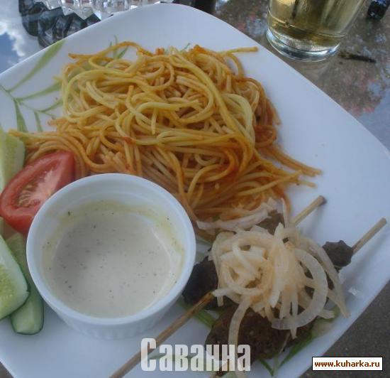 Рецепт Люля-кебаб в духовке