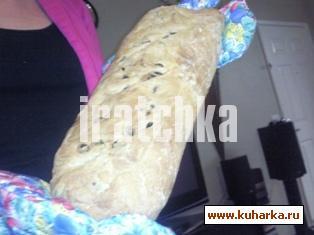 Рецепт Хлеб с изюмом и орехами