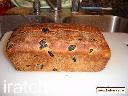 Рецепт Хлеб с оливками и розмарином