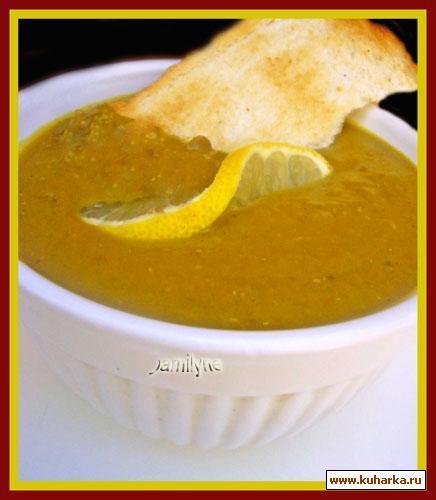 Рецепт Чечевичный суп с карри
