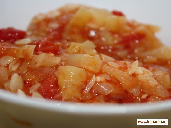 Рецепт Икра из кабачков по - кубански