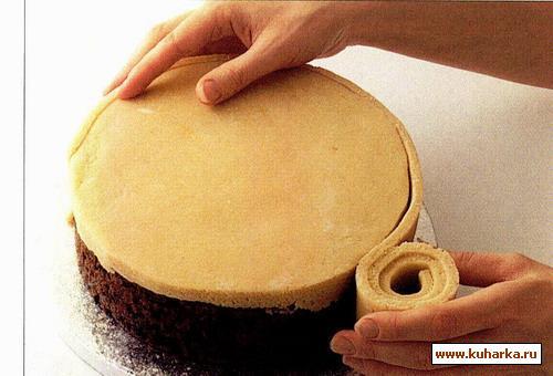 Рецепт марципановый торт с фото