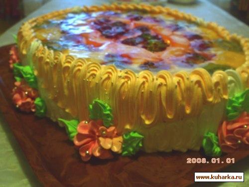 Рецепт Торт для доченьки