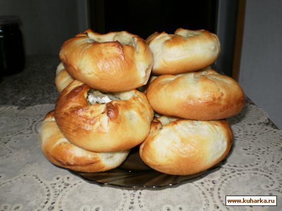 Рецепт Шанежки с картошкой
