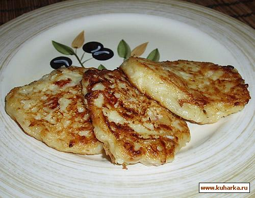Рецепт Кабачковые оладьи с беконом