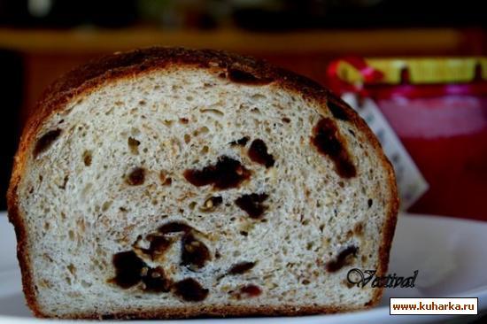 Рецепт Хлеб с финиками и медом