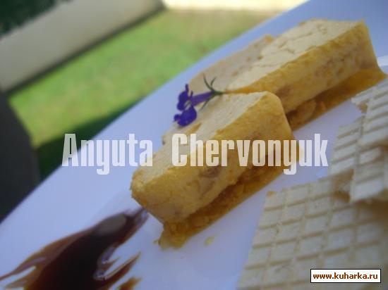 Рецепт Апельсиновый летний торт с печеньем (Tarta de naranja con galletas)
