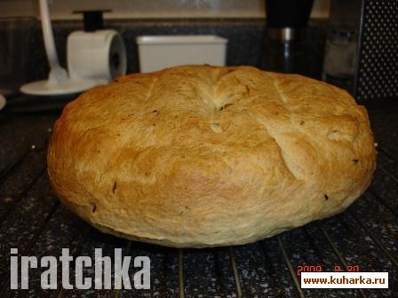 Рецепт Шведский апельсиновый хлеб с тмином