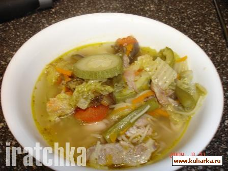 Рецепт Генуэзский суп Минестроне