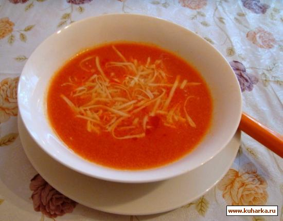 Рецепт Доматес Чорбасы (Томатный суп)