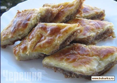 Рецепт Армянская пахлава
