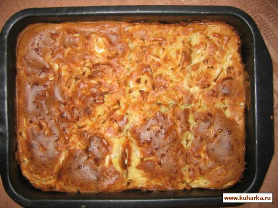 Рецепт Пирог со свежей капустой