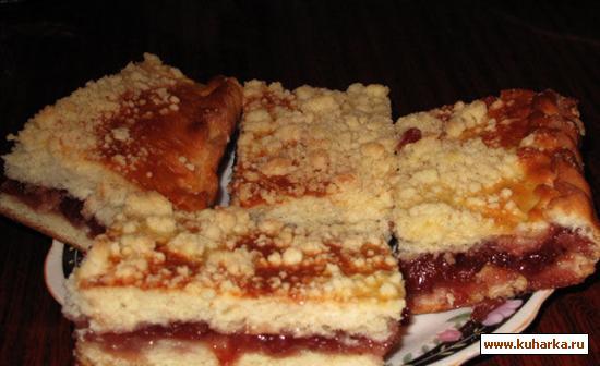 Пирог с маргарином рецепт с пошагово