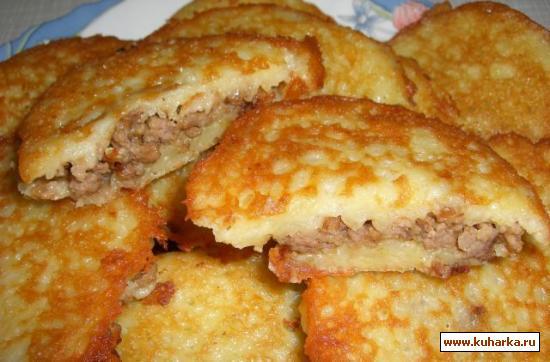Колдуны с вареной картошкой рецепт с фото