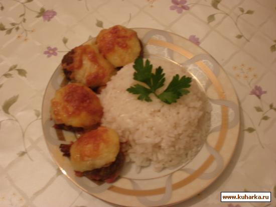 Рецепт Kартофельные гнездышки.