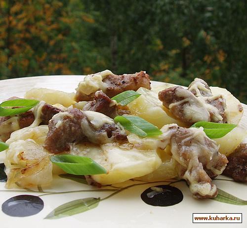 Рецепт Картофельная запеканка со свининой