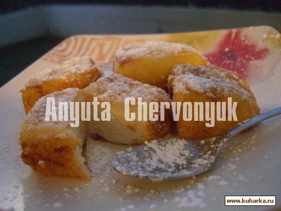 Рецепт Жаренное молоко (Leche frita)
