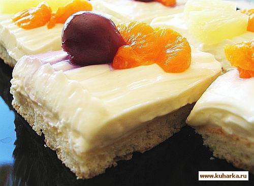 Рецепт Фруктовые пирожные