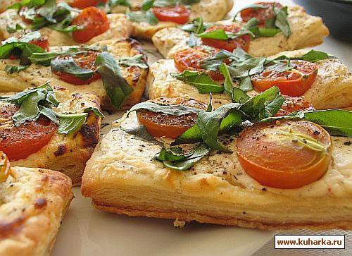 Рецепт Итальянские пирожки с томатами