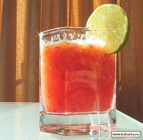 Рецепт Фруктовый напиток с медом