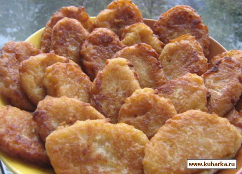 Рецепт Яблочные деруны