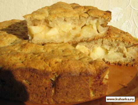 Рецепт Картофельный пирог с яблоками
