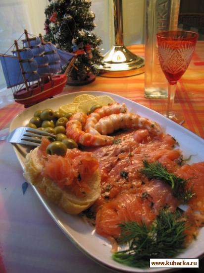 Рецепт Засолка лосося, сёмги и т.д.