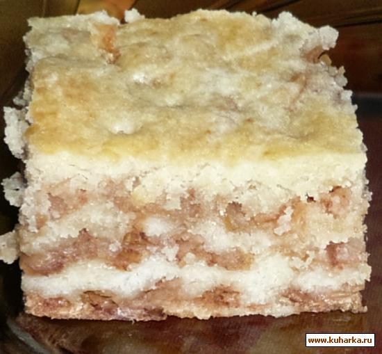 Рецепт Болгарский яблочный пирог