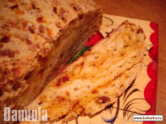 Рецепт Хлеб с вялеными помидорами и сыром