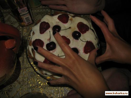 """Рецепт Торт """"Дамские пальчики"""""""