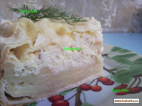Рецепт Хачапури из лаваша