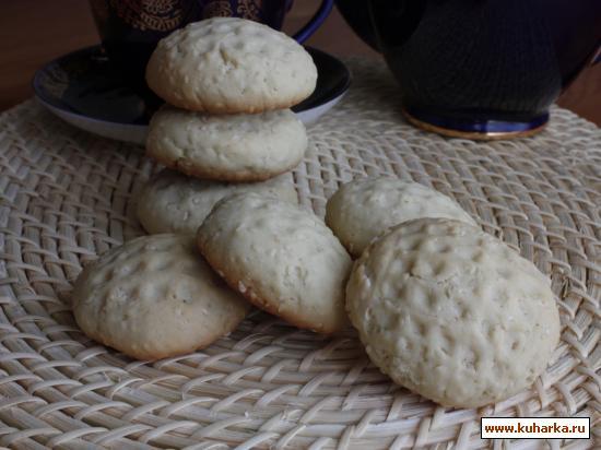 Рецепт Печенье с кунжутным семенем