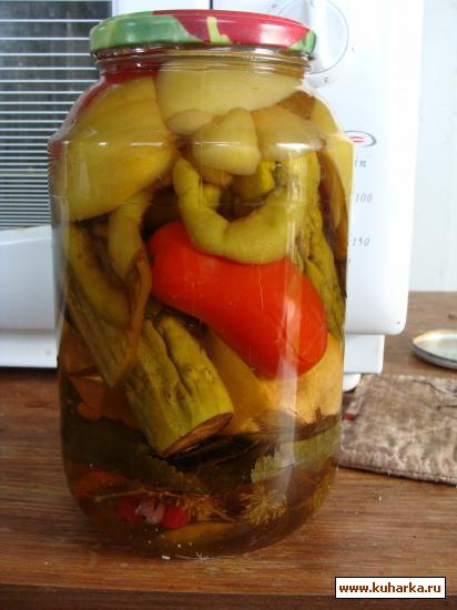 Рецепт Ассорти в яблочном уксусе