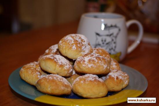Рецепт Творожно-лимонное печенье