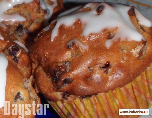 Рецепт Мини-кексы со сливами