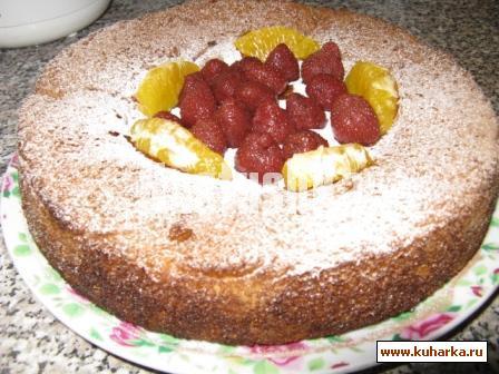 Рецепт Шарлотка с яблоками и корицей