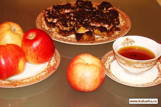 Рецепт Пирог с ежевичной начинкой