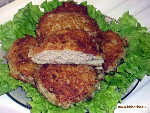 Рецепт Картофельные драники с мясом