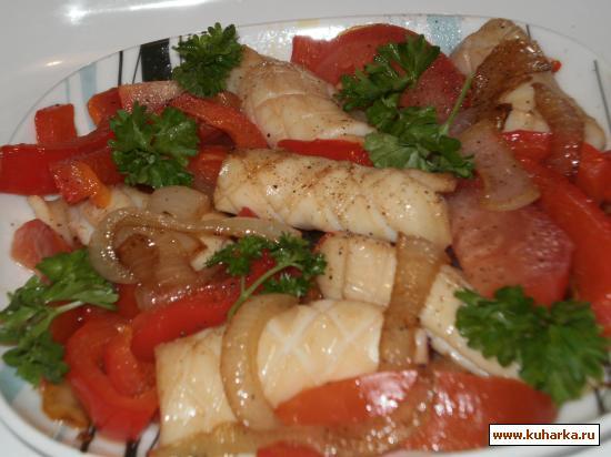 Рецепты блюд из кальмаров пошаговый рецепт с фото
