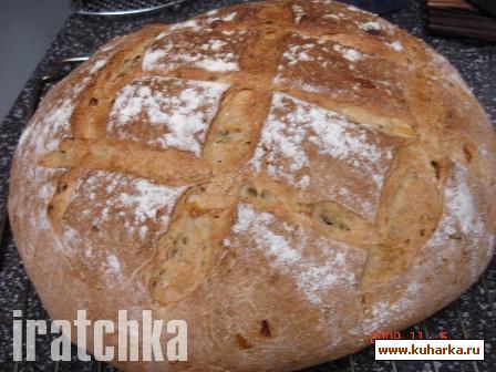Рецепт Хлеб с луком-пореем