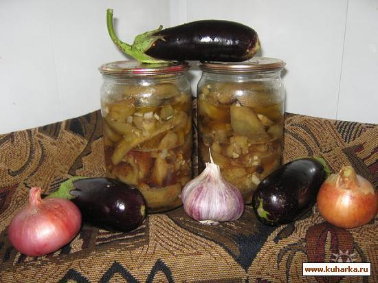 Рецепт Баклажаны грибная ножка
