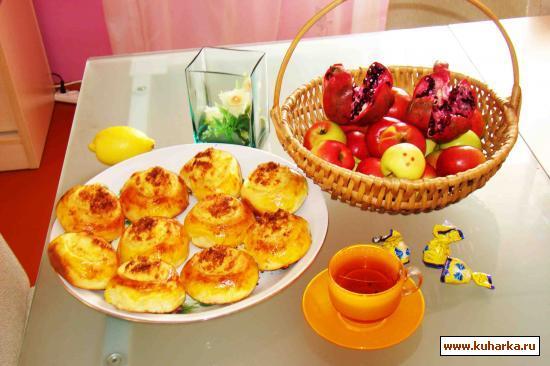 Рецепт Булочки с кокосовой начинкой