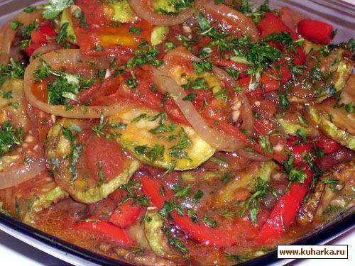 Рецепт Овощное рагу с кабачками