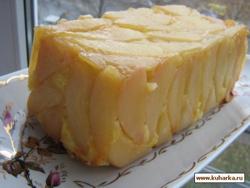 Рецепт Лимонный кекс с грушами