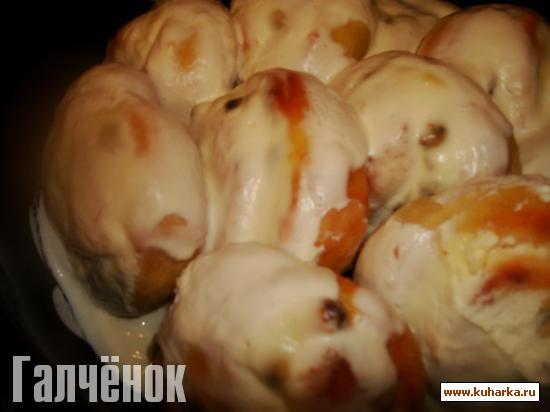 Рецепт Ватрушки со сметанной заливкой ( от Чучелки)
