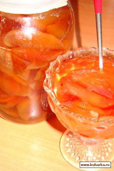Рецепт Варенье из персика