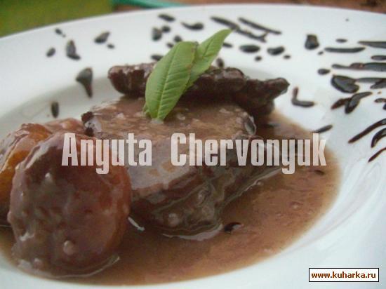 Рецепт Свинина с абрикосами (Paletilla con albaricoques)