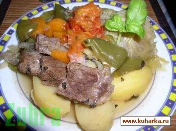 Рецепт Дымляма, или капуста, тушеная с мясом