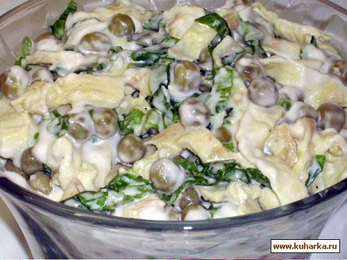 Рецепт Салатик с омлетом